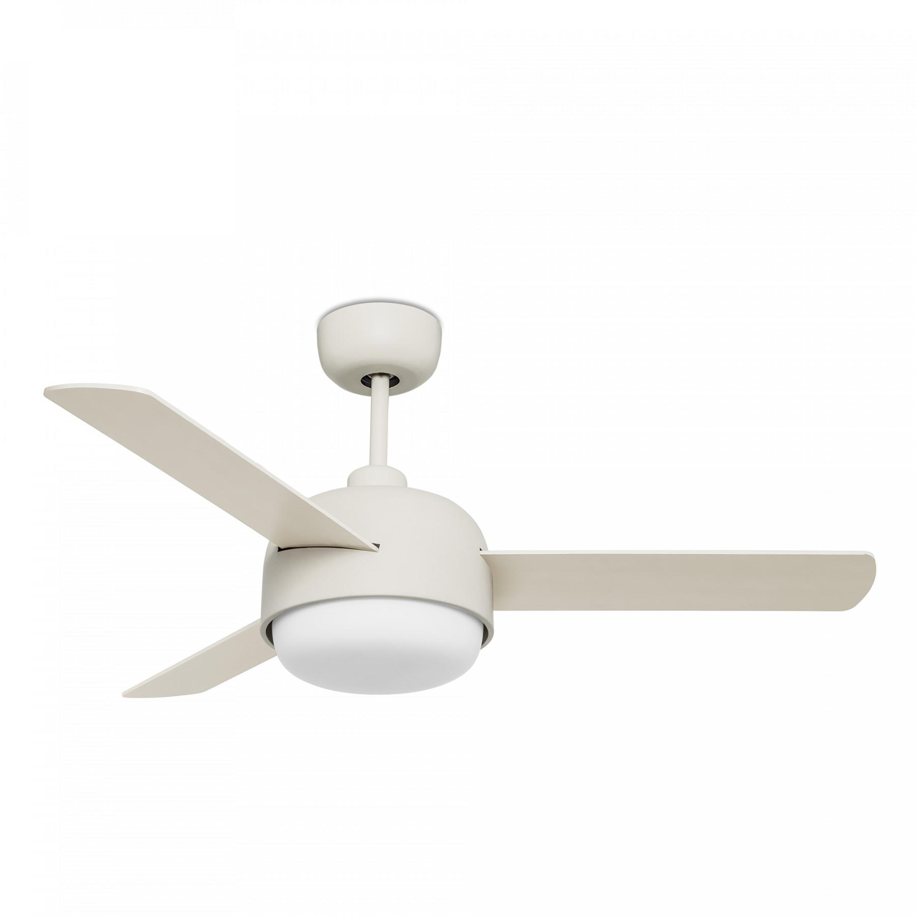 Ventilateur de plafond klar silencieux finition au choix - Ventilateur de plafond sans luminaire ...