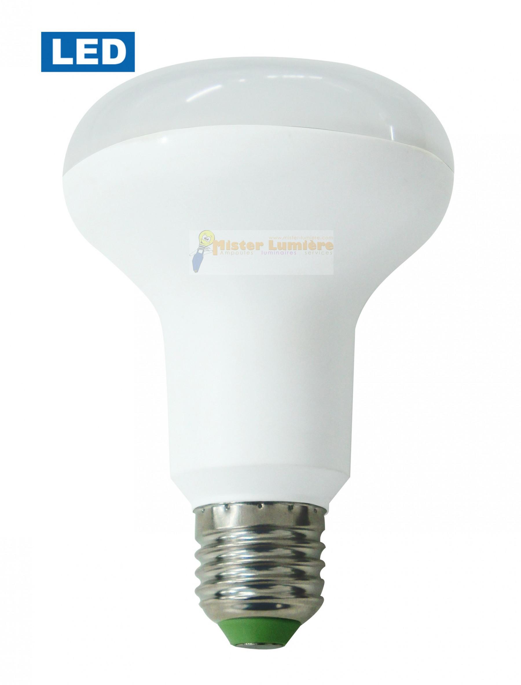 spot led r80 e27 12 watt blanc chaud quivalent 100 watt. Black Bedroom Furniture Sets. Home Design Ideas