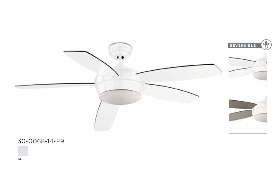 Ventilateur de plafond lumineux, 3 vitesses gamme Samal