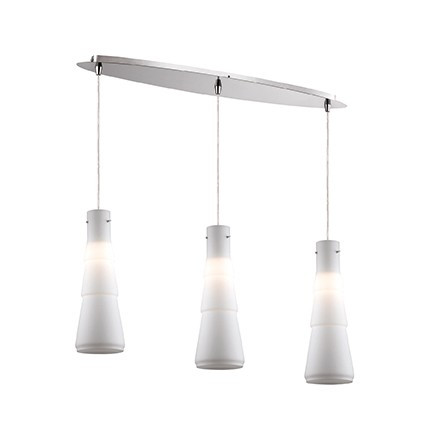 Suspension bud luminaire de ideal lux 3 lumi res lustre for Lustre 3 suspensions