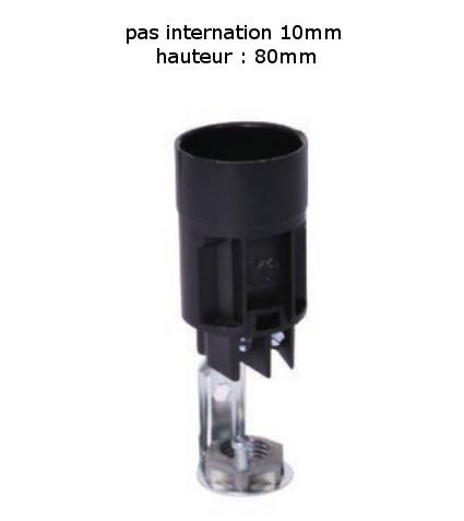 Douille E14 Fausse Bougie équipement Luminaire Pas De 10 International Hauteur 80