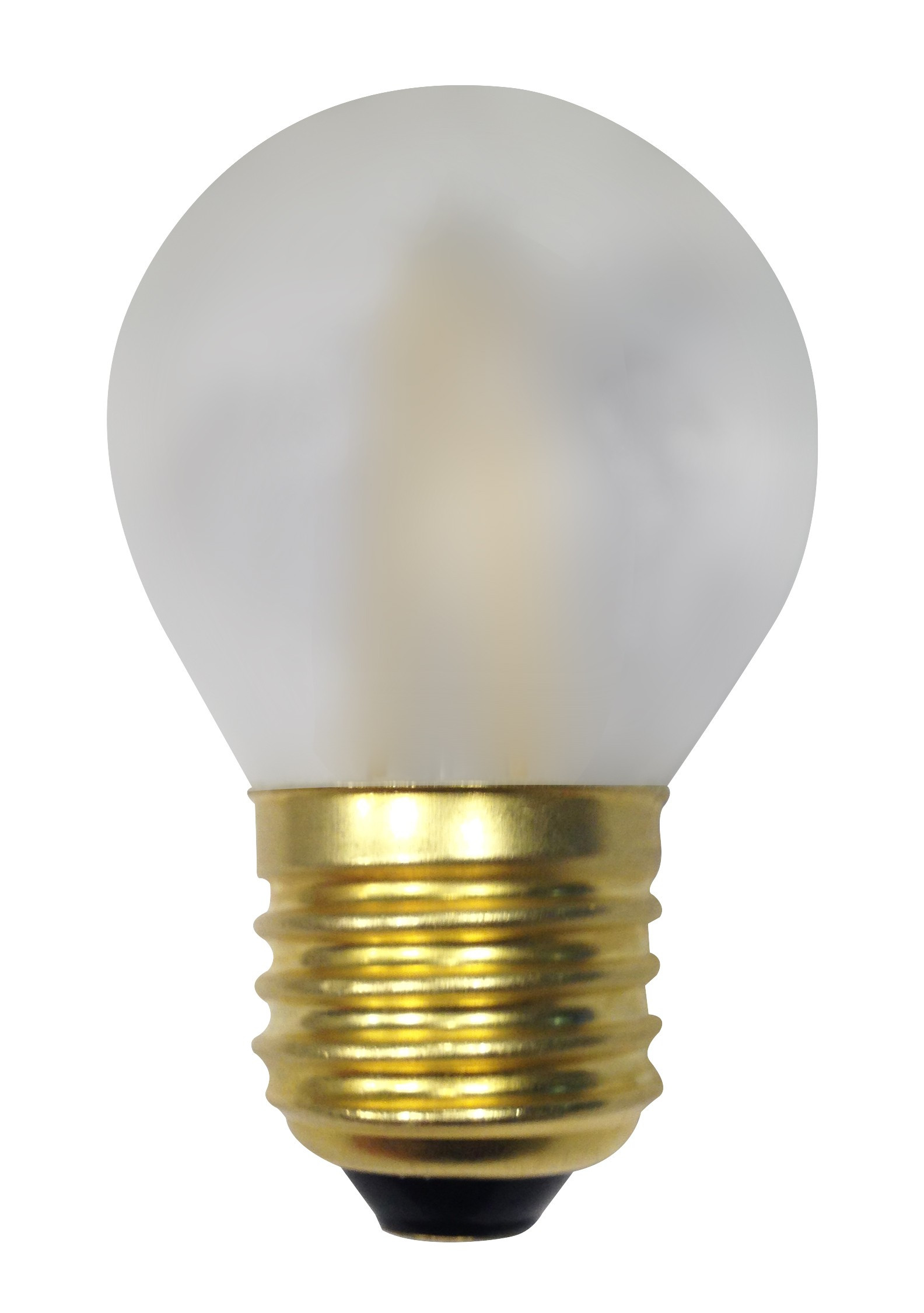 ampoule filament led 3 watt forme sph rique e27 opale depolie. Black Bedroom Furniture Sets. Home Design Ideas