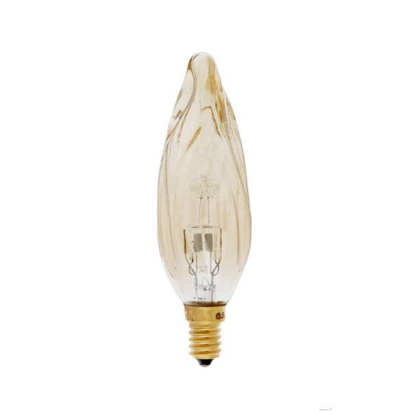 Ampoule GS8 grand siècle, Girard Sudron 28 watts Ambré E14 « éco enegi ».