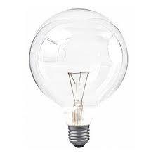 Ampoule globe, globe , ronde, incandescente, e27, culot,