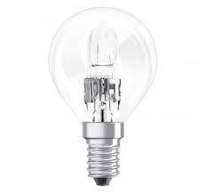 Ampoule halogène sphérique 28 watt égal à 40 watt culot e14 éco énergie