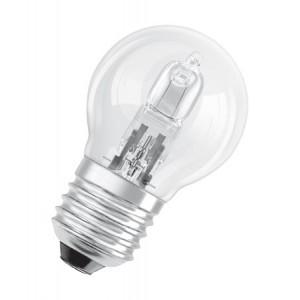 Ampoule halogène sphérique 28 watt égal à 40 watt culot e27 éco énergie