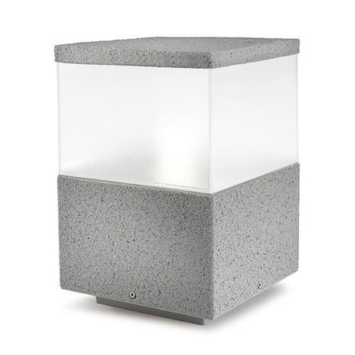 Balise d 39 ext rieur gamme 15 x 15 finition b ton promotion for Finition beton exterieur