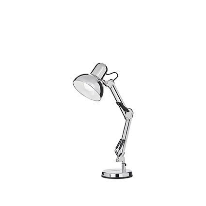 lampe d 39 appoint kelly 17 luminaire de ideal lux 1 lumi re cr ation design finition au choix. Black Bedroom Furniture Sets. Home Design Ideas