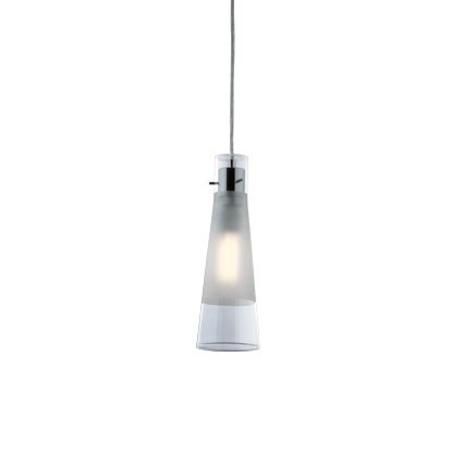 Suspension KUKY CLEAR luminaire de IDEAL LUX 1 lumières, lustre design