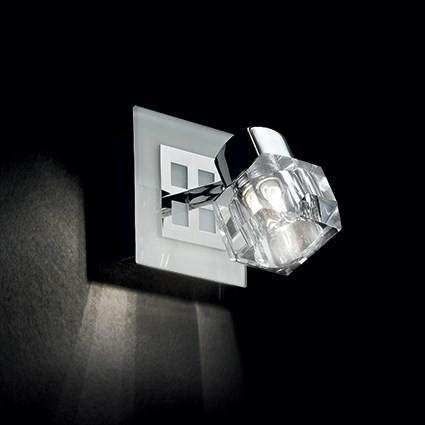 Applique NOSTALGIA luminaire de IDEAL LUX 1 spot, création design