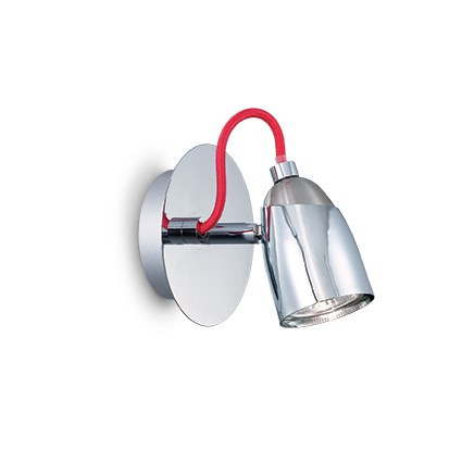 Applique POLLICINO ø 11 luminaire de IDEAL LUX 1 spots lumière, création design