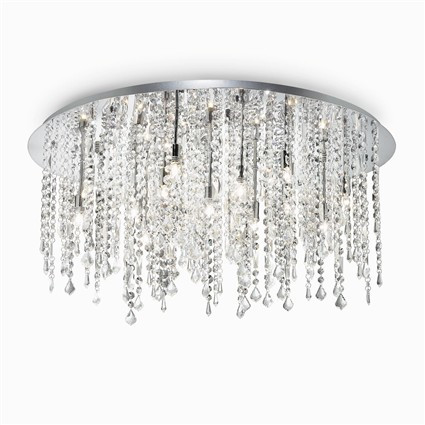 Plafonnier ROYAL luminaire de IDEAL LUX 8 lumières, design