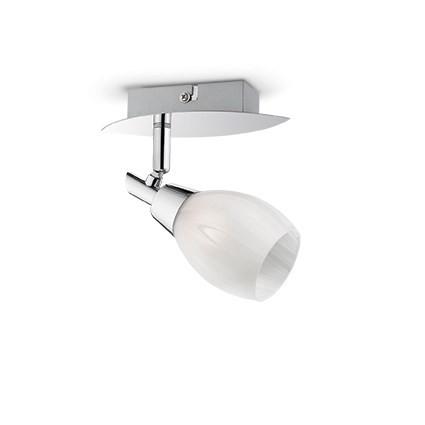 Applique SOFFIO luminaire de IDEAL LUX 1 spot, création design