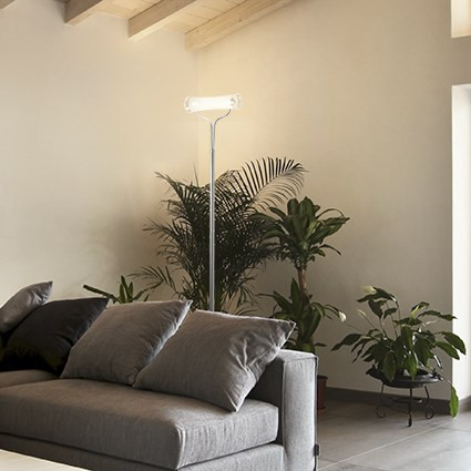 Lampe haute STAND UP Ø 25 luminaire de IDEAL LUX 1 lumière, création design