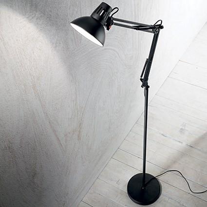 Lampe haute WALLY Ø 25 luminaire de IDEAL LUX 1 lumière, création design, finition au choix