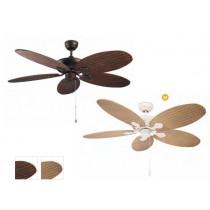30-4398 ventilateur de plafond phuket LEDS C4 finition au choix
