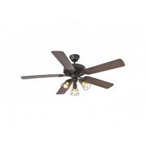 33710 Ventilateur de plafond ALOHA faro marron