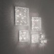 Plafonnier ADMIRAL luminaire de IDEAL LUX 12 lumières, lustre design Chrome Or