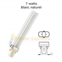 Ampoule g23 7 watt blanc naturel 840