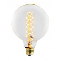 Ampoule globe décorative filament incandescent vintage, ampoule edison