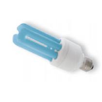 Ampoule tue mouche E27 20 watt bleuté
