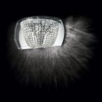 Applique AUDI-60 luminaire de IDEAL LUX 4 lumières, lustre design, cristal