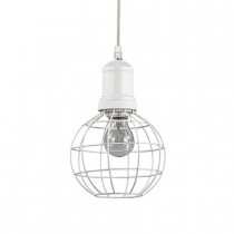 Suspension CAGE ø 15 ROUND luminaire de IDEAL LUX 1 lumière, lustre design