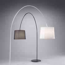 Lampe haute DORSALE luminaire de IDEAL LUX 1 spot, création design, finition au choix