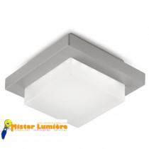 Plafonnier d'extérieur JEP éclairage LED gris