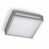 Plafonnier d'extérieur à LED gamme LEGGETT, gris, blanc chaud