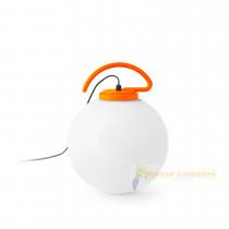 70484 boule d'extérieur gamme NUK finition orange