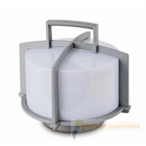 Lampe d'extérieur portative, gamme CROSS gris