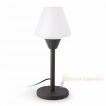 Lampe à poser d'extérieur gammes MISTU gris anthracite