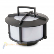 Lampe d'extérieur portative, gamme CROSS gris anthracite.