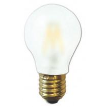 Ampoule filament LED 6 watt forme standard  E27 OPALE DEPOLIE