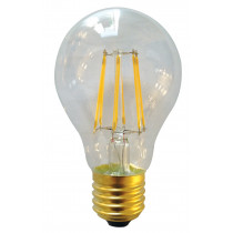 Ampoule filament LED 7 watt forme standard  E27 transparent