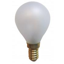 Ampoule filament LED 3 watt forme sphérique E14 OPALE DEPOLIE