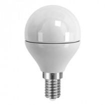 Ampoule LED sphérique ronde opale 4 watt culot e14 blanc chaud