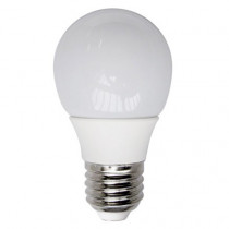 Ampoule LED sphérique ronde opale 4 watt culot e27 blanc