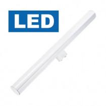 ampoule linolite LED S14D culot latéral 5 watt longeur 300 mm