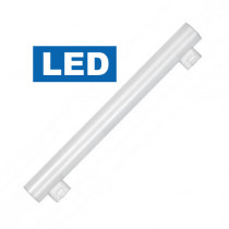 ampoule linolite LED S14S 2 culots latéraux 5 watt longeur 300 mm