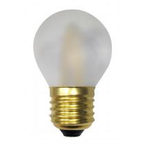 Ampoule filament LED 3 watt forme sphérique E27 OPALE DEPOLIE