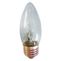ampoule flamme lisse culot à vis E27