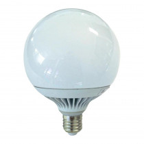 Ampoule LED globe 120 mm 15 watt équivalent 100 watt culot E27