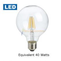 Ampoule Globe filameny LED équivalent 40 watt
