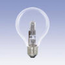 Ampoule globe halogène 28 watt diamètre 80 mm culot e27