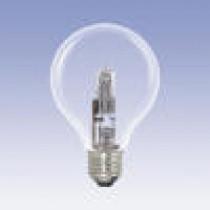 Ampoule globe halogène 42 watt diamètre 80 mm culot e27