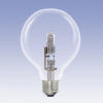 Ampoule globe halogène 18 watt diamètre 95 mm culot e27