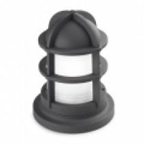 luminaire, balise, gamme mariner, gris urbain 60 watt