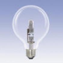 Ampoule globe halogène 70 watt diamètre 95 mm culot e27